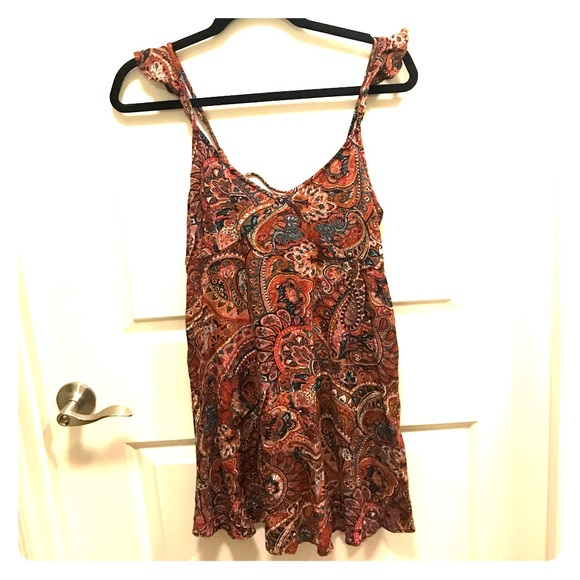 c43813279492 American Eagle Small Bohemian Summer Dress
